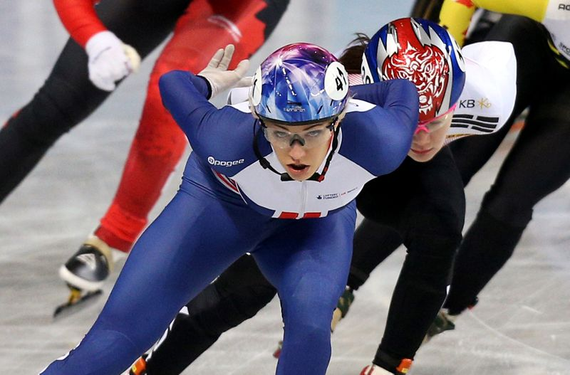 Speed skating: Christie devastated as pandemic forces Britain out of worlds