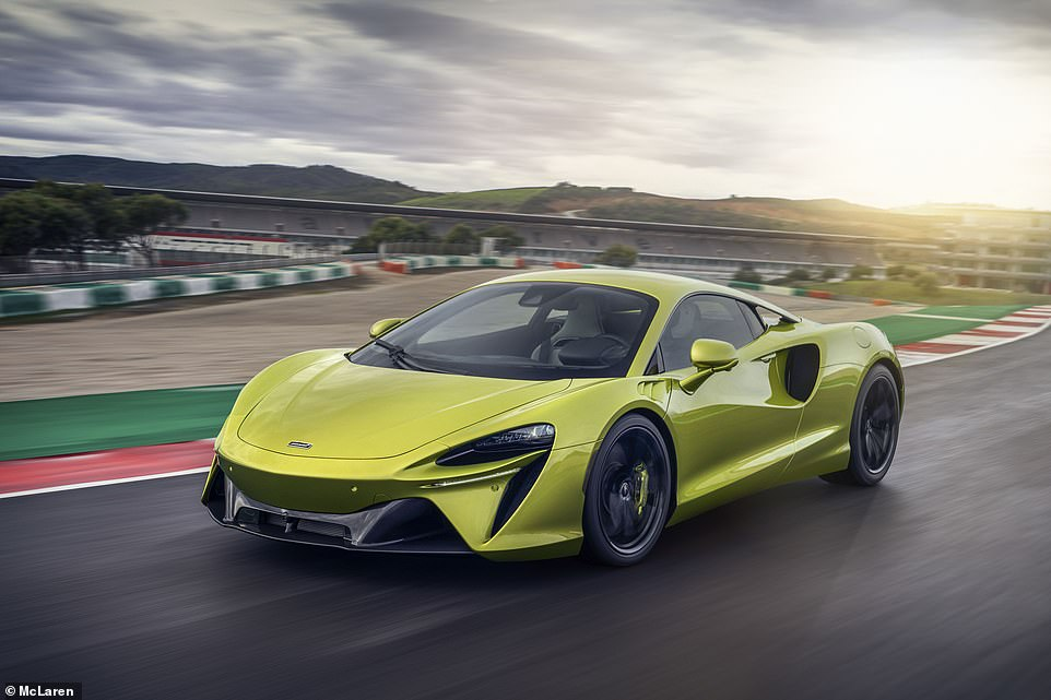 McLaren's planet-preserving supercar: This is the new Artura, the British firm's latest model that's super quick but also very green (and not just the paint)