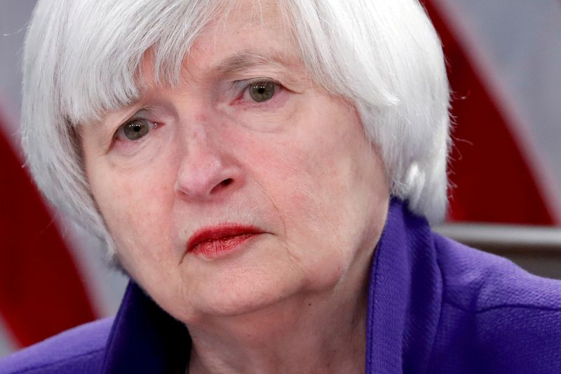 U.S. Treasury's Yellen discusses boosting cooperation in call with EU executive