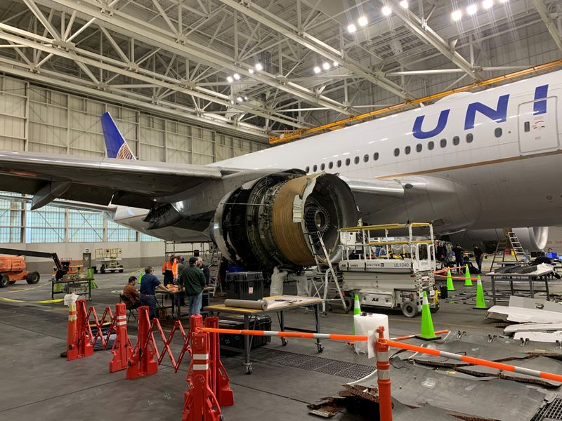 United 777 plane flew fewer than half the flights allowed between checks - sources