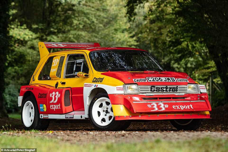 This1985 MG Metro 6R4, which went on to win the French Rally Championship, sold at auction earlier this month for a staggering £214,700, including sale premiums. The Car SOS 6R4, given its British title success, is likely worth even more