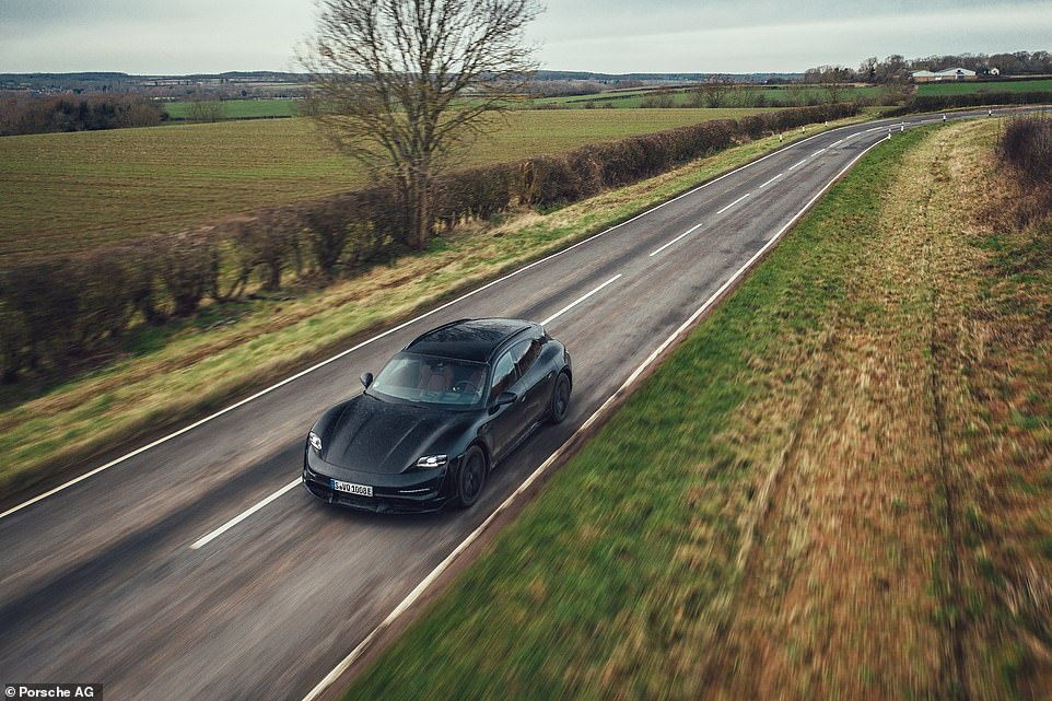 'It's a very engaging and exhilarating clean, mean machine, with plenty of poke. The Cross Turismo styling makes it look more casual but also more practical,' says Daily Mail motoring editor, Ray Massey