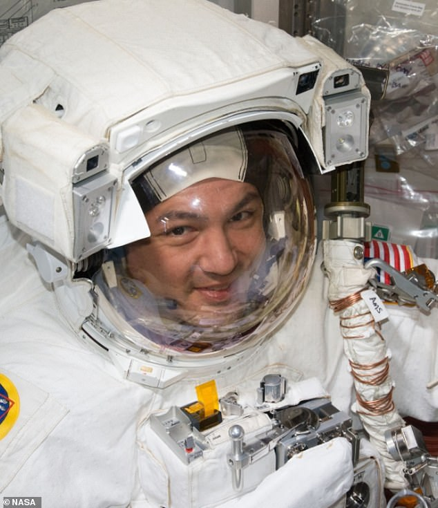 Kjell Lindgren, 48, is not a stranger to the final frontier. His last stay on the space ship lasted a total of 141 days in 2015 for Expeditions 44 and 35.