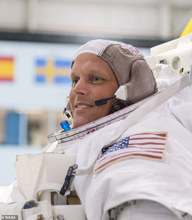 Bob Hines, 46, was selected as an astronaut in 2017 and will be making his first trip to space next year. Prior to becoming a NASA astronaut, he served in the US military
