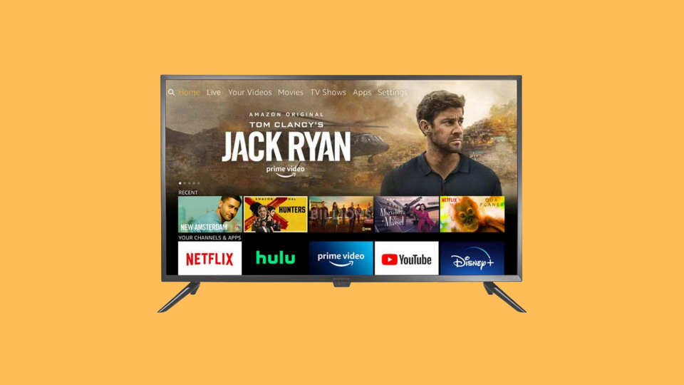 Deal of the weekend: Save 40 percent on this Insignia 24-inch Smart HD TV—Fire TV Edition. (Photo: Amazon)