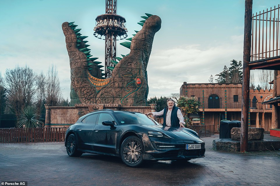 Our first drive included an out-of-season visit and photoshoot at an otherwise deserted funfair at Chessington World of Adventure