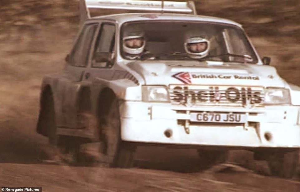 The MG Metro 6R4 was co-developed with the Williams F1 team in 1985 to compete in Group B rallying. However, the championship was scrapped a year later over safety concerns. The 20 6R4 'works' competition cars went on to race in other series, including winning the 1987 British National Championship, driven by Scotsman DavidGillanders (pictured)