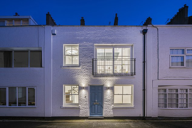 In St John's Wood, this one-bed mews is being marketed by Savills for £1.025million. It was the location used as a hideout by the getaway driver for the Great Train Robbery gang in 1963