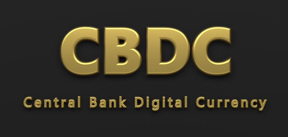 symbol of central bank digital currency CBDC