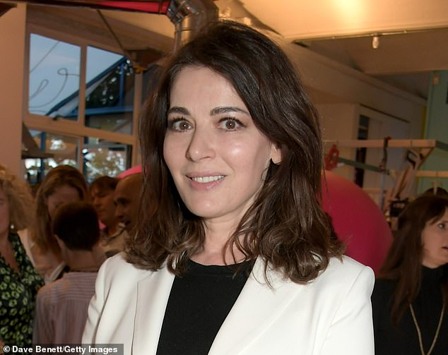 Nigella Lawson has said her 'head is in a spin' at being offered the Covid vaccine - ahead of thousands of over-65s elsewhere in the country