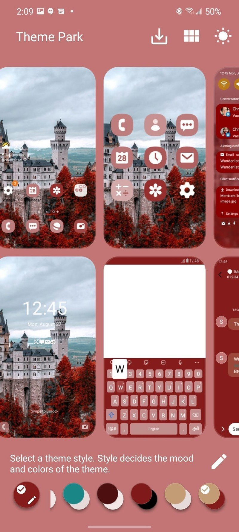 Customizing with Good Lock and Theme Park