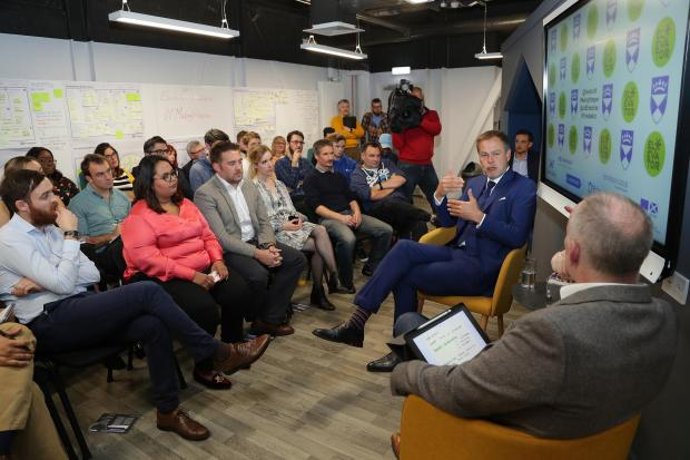 HeraldScotland: Elevator recently invited Dragon's Den star Peter Jones to host a talk at its Centre for Entrepreneurship in Dundee