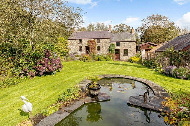 Booth House in Pembrokeshire has three bedrooms and is available with Savills for£825,000