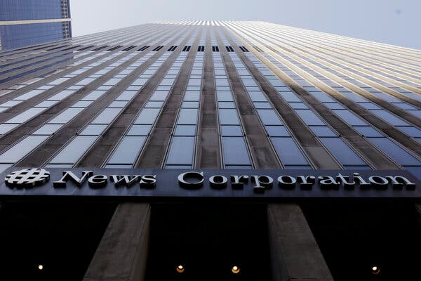 News Corp, the publisher of The Wall Street Journal and The Australian, has beena longtime critic of Google.