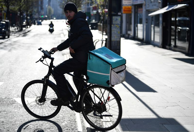 'A side of shares': Deliveroo to offer 50 million pounds of stock to customers