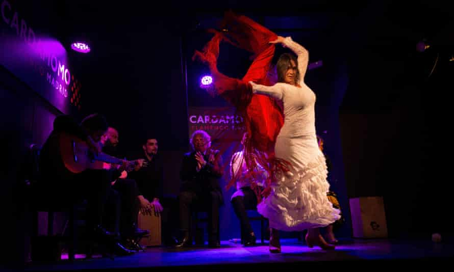 'Flamenco has been through tough times and wars before, and it will survive' ... Paula Rodríguez.
