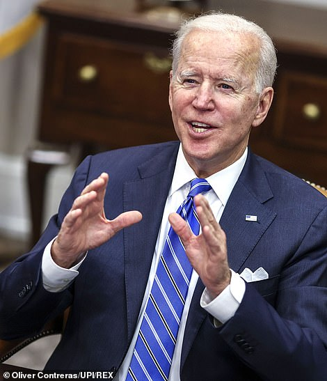 President Biden could hit his goal of 100 million doses of COVID-19 vaccines given in the first 100 days of his term much earlier at this rate. The target could be hit within 18 days