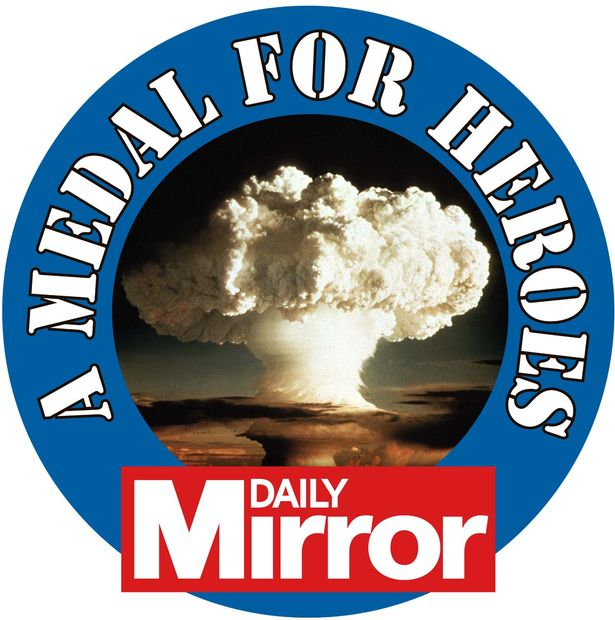The Mirror's A Medal For Heroes campaign