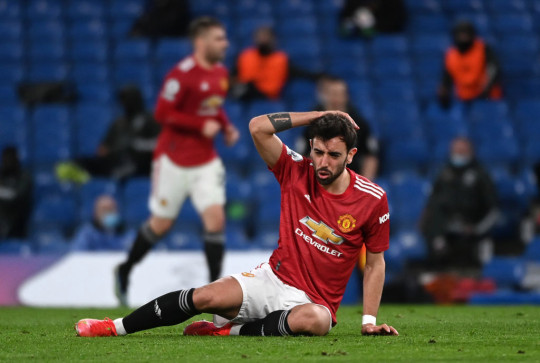 Bruno Fernandes admits he did not play well in Manchester United's draw with Chelsea last weekend