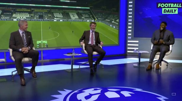 Souness caused his fellow pundits to burst out laughing with his put-down