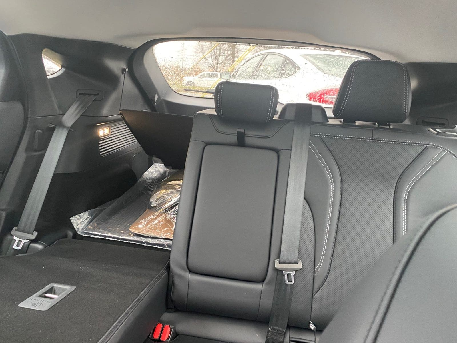 Ford Mustang Mach-E back seats in Bethesda, Virginia