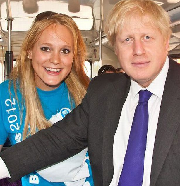 Jennifer pictured with Boris Johnson during his mayoral campaign in 2012