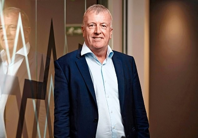 Cashing in: Founder and chief executive Andy Bell sold a £17million stake in his firm in December four months after selling another £8million worth of shares