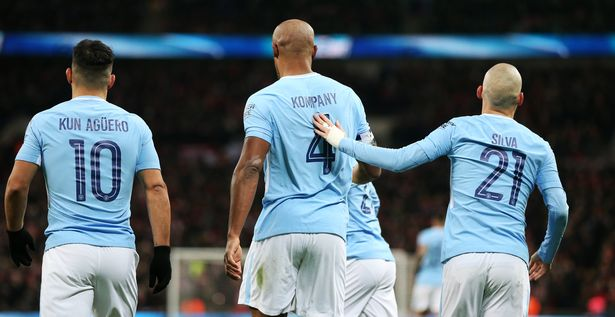 The three Man City legends will all have statues