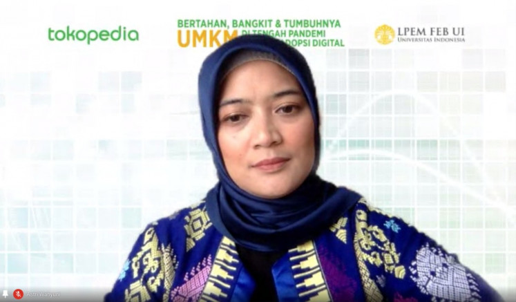 Astri Wahyuni, Tokopedia vice president of public policy and government relations
