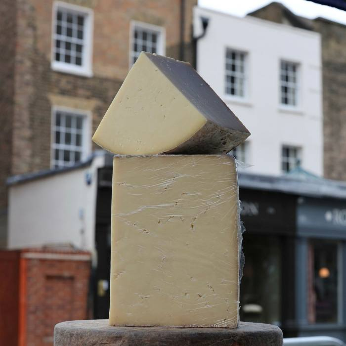 Superb cheeses can be found at Pimlico Road Farmers' Market...