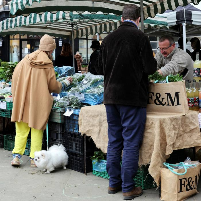 The Chegworth Valley fruit and veg
