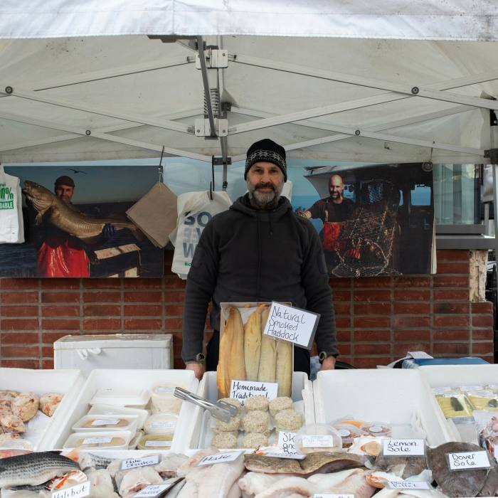 Longshore sells fish and seafood caught off Blakeney, Norfolk