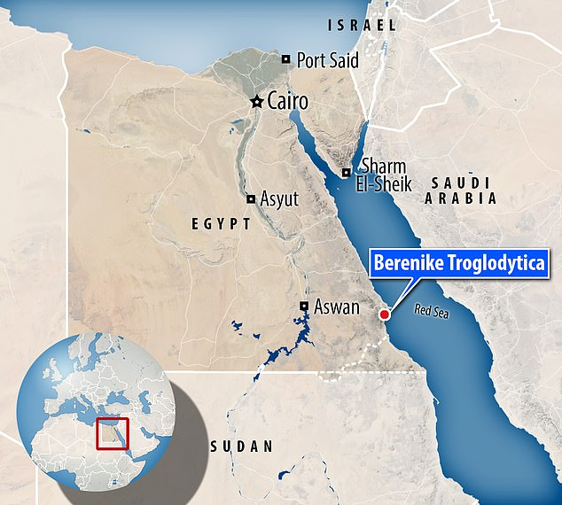 Founded in 275 BC by Macedonian king Ptolemy II, Berenike was a fortified port that served as trade center for exotic goods from India, Arabia and other parts of Egypt