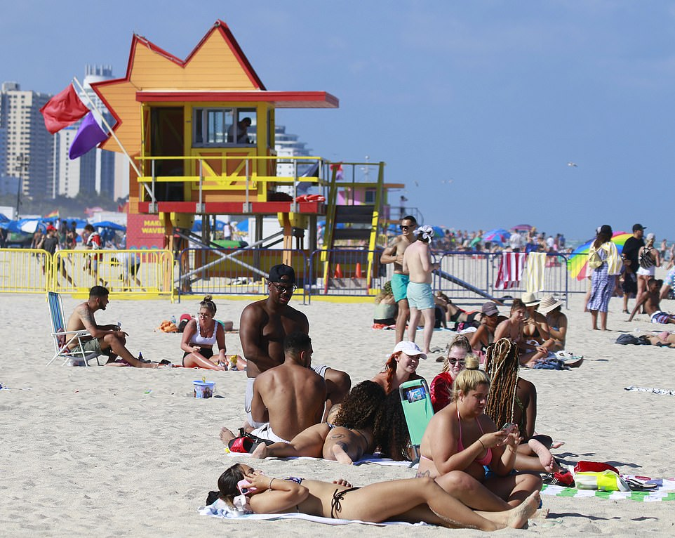 Most Spring Breakers are college age, and less at-risk from COVID-19, but they could easily spread the virus to other more vulnerable people, which experts worry will lead to yet another rise in coronavirus deaths in the state