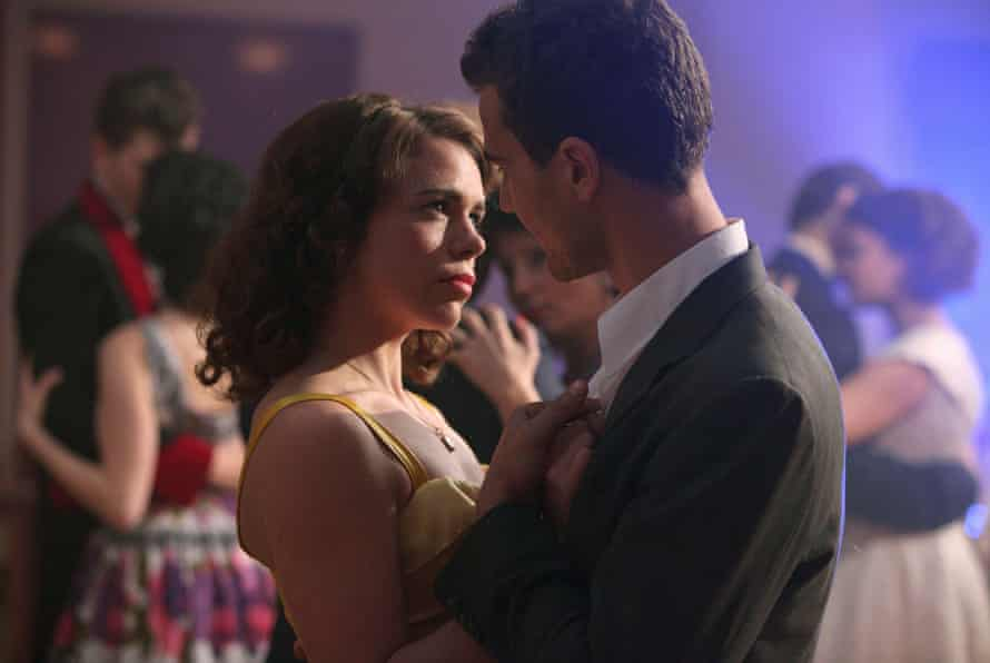 Unhappily married … Billie Piper and Theo James in A Passionate Woman, based on Mellor's mother.