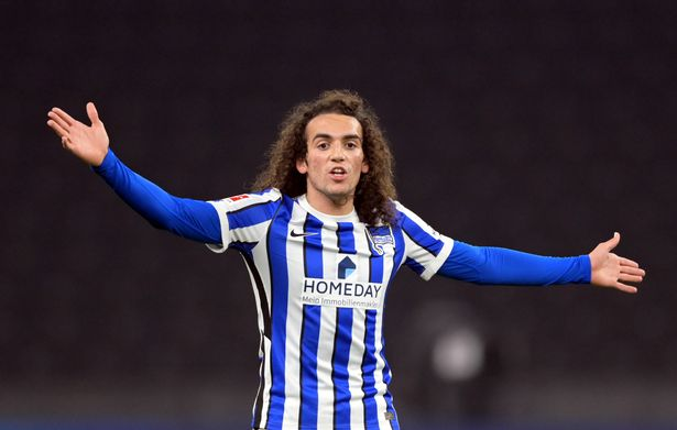 Matteo Guendouzi signed for Hertha Berlin last year