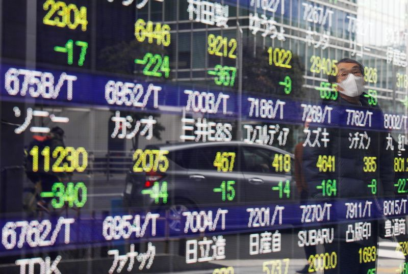 Asian stocks set to firm after Dow hits record