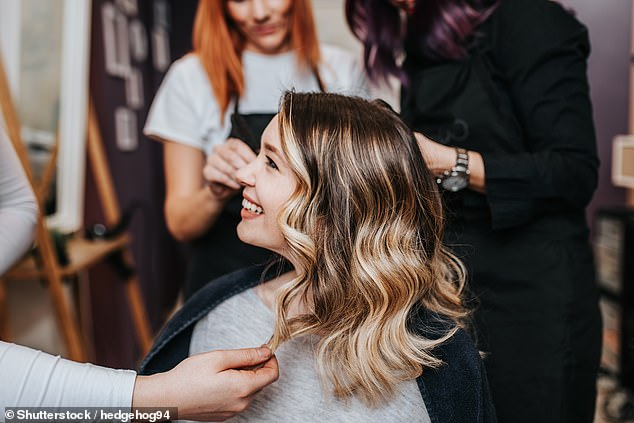 Original: About two-thirds of the UK's 49,000 hairdressers and beauty salons still take bookings over the phone using paper and pen
