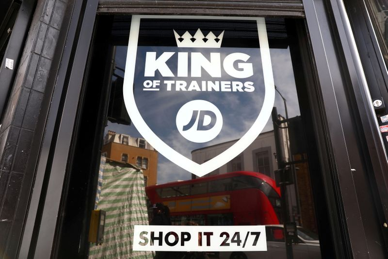 Britain's JD Sports enters eastern Europe with MIG deal