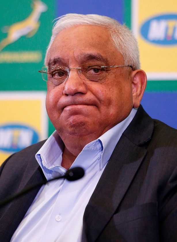 South African Rugby Union president Mark Alexander