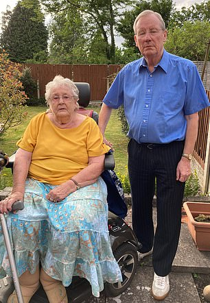 Audrey and Brian Watson: Couple from Staffordshire sent a question to Steve Webb a year ago, sparking our investigation - read their story here