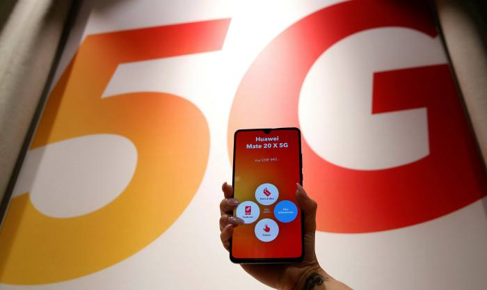 Huawei was ahead of Apple and other smartphone makers in shipping 5G models