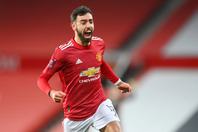 Bruno Fernandes is favourite to win PFA Player of the Season
