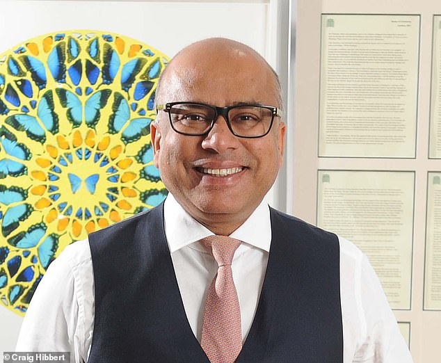 Plea: Sanjeev Gupta wrote to Government officials in a desperate bid to secure a £170million bailout from taxpayers