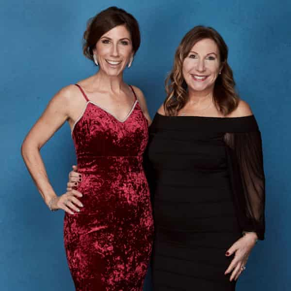 Double act … Mellor with her daughter Gaynor Faye, who also stars in The Syndicate.
