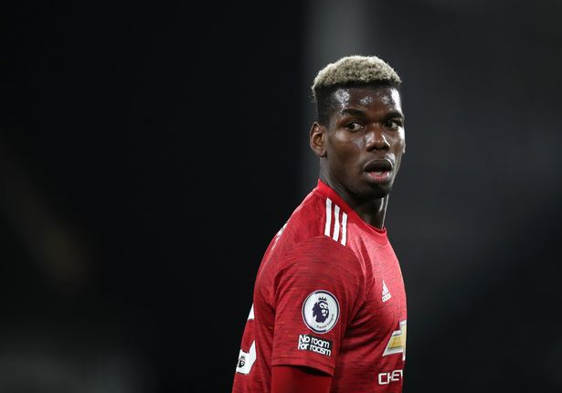 Pogba is currently sidelined with a thigh problem