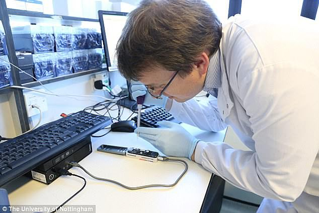 Biotech champion: Oxford Nanopore's success depends on brilliant scientific breakthroughs. It is founded and run by scientists and has played an important role in the war against Covid-19