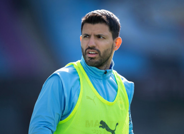 Sergio Aguero will be leaving Manchester City this summer