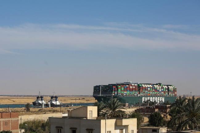 Ships Get Moving Through Suez as Giant Ever Given Is Freed