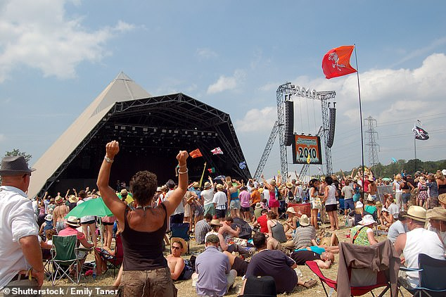 Under threat: A survey by the Association of Independent Festivals found 92.5 per cent of organisers said they could not stage events without insurance